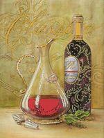 """Вышивка бисером """"Графин и вино"""""""