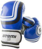 Перчатки боксёрские LTB-16111 (S/M; синие; 12 унций)