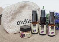 """Подарочный набор для лица """"Для чувствительной кожи"""" (молочко, флюид, гидролат, маска)"""