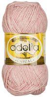 "Пряжа ""Adelia. Casual №6"" (50 г; 130 м; розовый)"