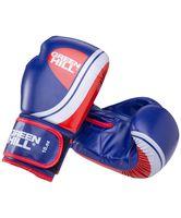 """Перчатки боксёрские """"Knockout BGK-2266"""" (14 унций; синие)"""