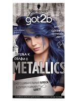 """Краска для волос """"Metallics"""" тон: M67, сапфировый синий"""