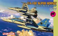 "Набор самолетов ""Super Hornet VFA-213 Black Lions"" (масштаб: 1/144)"