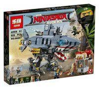 "Конструктор Ninja Go ""Акула Гармадона: Нападение на Ниндзяго Сити"""