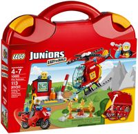 "LEGO Juniors ""Чемоданчик Пожар"""