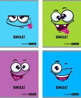 "Тетрадь в клетку ""Smile!"" (96 листов)"