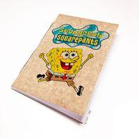 """Блокнот крафт """"Sponge Bob"""" А7 (арт. 090)"""