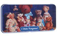 """Подарочная коробочка для денег """"Медвежата"""" (арт. 43674)"""
