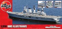 """Авианосец """"HMS Illustrious"""" (масштаб: 1/350)"""