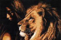 """Вышивка крестом """"Царь зверей"""""""