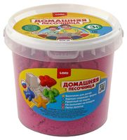 """Кинетический песок """"Розовый"""" (1 кг)"""