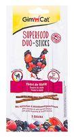 """Лакомство для кошек """"Superfood Duo-Sticks"""" (3 шт.; с курицей и лесными ягодами)"""