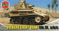 "Легкий танк ""Vickers Light Tank Mk.VI, a/b/c"" (масштаб: 1/76)"