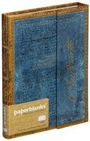 """Записная книжка Paperblanks """"Вордсворт. Письмо с цитатой из """"Желтых нарциссов` в линейку (формат: 130*180 мм, средний)"""