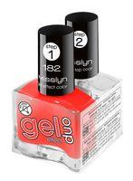 """Набор лаков для ногтей """"Gel Effect Duo"""" (тон: 182)"""