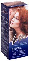"""Крем-краска для волос """"Estel Love"""" (тон: 7/4, тициан)"""