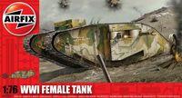 "Тяжелый танк ""WWI Female Tank"" (масштаб: 1/76)"