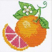 "Набор для вышивания ""Апельсин"" (100х100 мм)"