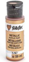 "Краска акриловая ""FolkArt. Metallic"" (бронза, 59 мл; арт. PLD-00663)"