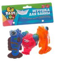 """Набор игрушек для купания """"Краб, рыбки"""""""