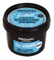 """Бальзам-глина для волос """"So clean"""" (100 мл)"""