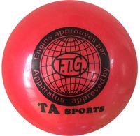Мяч для художественной гимнастики RGB-101 (19 см; красный)