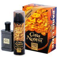 """Подарочный набор """"Cosa Nostra"""" (туалетная вода, пена для бритья)"""
