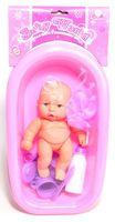 """Пупс в ванне """"Baby World"""""""