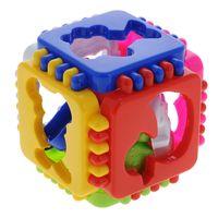 """Развивающая игрушка """"Логический куб. Веселые зверята"""""""