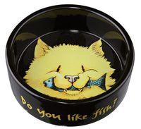 Миска для кошек керамическая (0,3 л; арт. 24794)