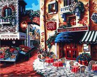 "Картина по номерам ""Итальянский ресторан"" (400х500 мм)"