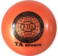 Мяч для художественной гимнастики RGB-101 (19 см; оранжевый)
