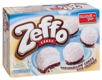 """Пирожное в кокосовой стружке """"Zeffo"""" (115 г)"""