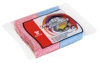 Губка для мытья посуды целлюлозная (2 шт.; арт. 3067)
