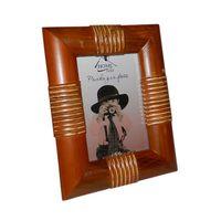 Рамка для фото деревянная с плетеной отделкой (10х15 см; арт. YPX2214-1)