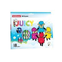 """Фломастеры """"Juicy Plus"""" (18 цветов)"""
