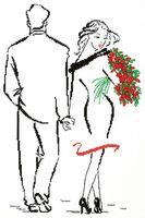 """Набор для вышивания """"Романс о влюблённых"""""""