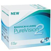 """Контактные линзы """"Pure Vision 2 HD"""" (1 линза; -2,5 дптр)"""
