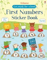 First Numbers. Sticker Book
