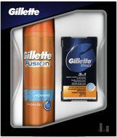 """Подарочный набор """"Gillette Fusion"""" (гель, бальзам)"""