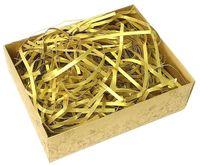 Стружка бумажная (золотая; 100 г)