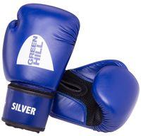 """Перчатки боксёрские """"Silver"""" BGS-2039 (14 унций; синие)"""