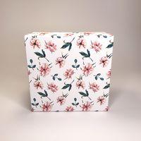 """Подарочная коробка """"Шиповник"""" (16х16x7,5 см)"""