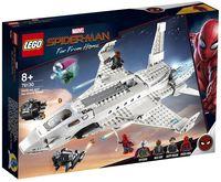 "LEGO Super Heroes ""Реактивный самолёт Старка и атака дрона"""