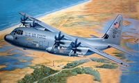 "Военно-транспортный самолет ""C-130J Hercules"" (масштаб: 1/48)"