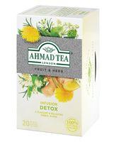 """Фиточай """"Ahmad Tea. Detox"""" (20 пакетиков)"""