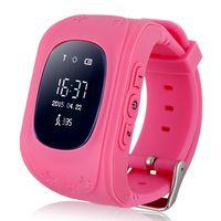 Детские часы SmartBabyWatch Q50 (розовые)