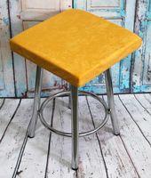 """Подушка на стул """"Velours Cuadro"""" (33х33 см; горчичная)"""