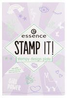 "Трафарет для дизайна ногтей ""Stamp it. Stampy Design Plate"" (тон: 01)"