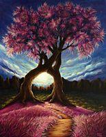 "Алмазная вышивка-мозаика ""Дерево"" (530х660 мм)"